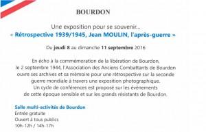 Exposition Libération de Bourdon