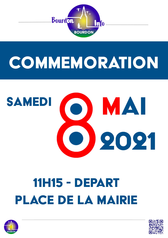 Invitation Commemoration 8 Mai 2021