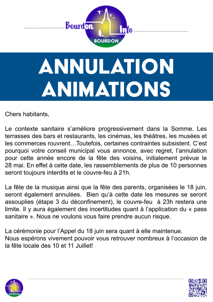 Publication Annulation Animations